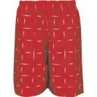 DUC 2nd Glance Men's Reversible Tennis Shorts (Red) - Men's Shorts Tennis Apparel