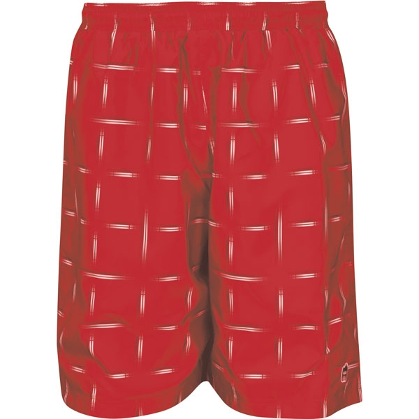 DUC 2nd Glance Men's Reversible Tennis Shorts (Red)