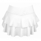 DUC Belle Women's Tennis Skirt (White) -