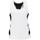 DUC Double Digits Reversible Women's Tank (Black) - DUC Women's Apparel Tennis Apparel