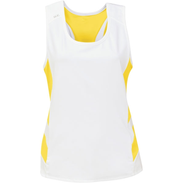DUC Double Digits Reversible Women's Tank (Gold)