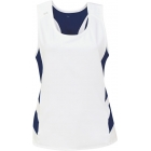DUC Double Digits Reversible Women's Tank (Navy) - DUC Women's Apparel Tennis Apparel