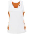 DUC Double Digits Reversible Women's Tank (Orange)  - Women's Tops Sleeveless Shirts Tennis Apparel