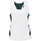 DUC Double Digits Reversible Women's Tank (Pine) - Women's Tops Sleeveless Shirts Tennis Apparel
