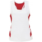 DUC Double Digits Reversible Women's Tank (Red) - DUC Women's Apparel Tennis Apparel