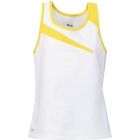 DUC Slice Women's Tank (Gold) - Women's Tops Sleeveless Shirts Tennis Apparel