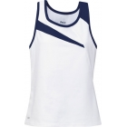 DUC Slice Women's Tank (Navy) - Women's Tops Sleeveless Shirts Tennis Apparel