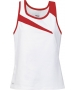 DUC Slice Women's Tank (Red) - Tennis Apparel