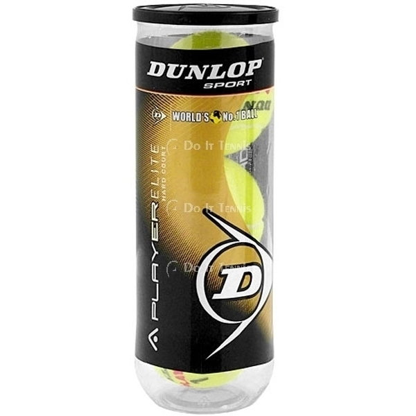 Dunlop A Player Hard-Court Tennis Balls (Case)
