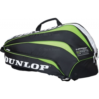 Dunlop Biomimetic 6 Racquet Thermo Bag (Green)