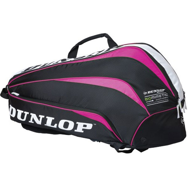 Dunlop Biomimetic 6 Racquet Thermo Bag (Pink)