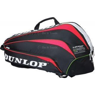 Dunlop Biomimetic 6 Racquet Thermo Bag (Red)