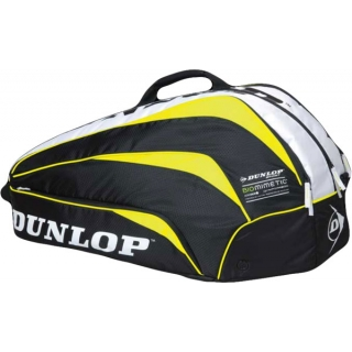 Dunlop Biomimetic 6 Racquet Thermo Bag (Yellow)