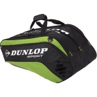 Dunlop Biomimetic Tour 10 Racquet Thermo (Green) - Tennis Racquet Bags