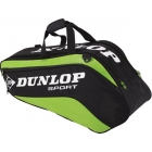 Dunlop Biomimetic Tour 6 Racquet Thermo (Green) - Tennis Racquet Bags