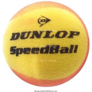 Dunlop Foam Practice Tennis Ball (Speedball)
