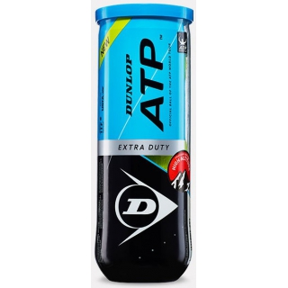 Dunlop ATP Super Premium Extra Duty High Altitude Tennis Balls (Can)