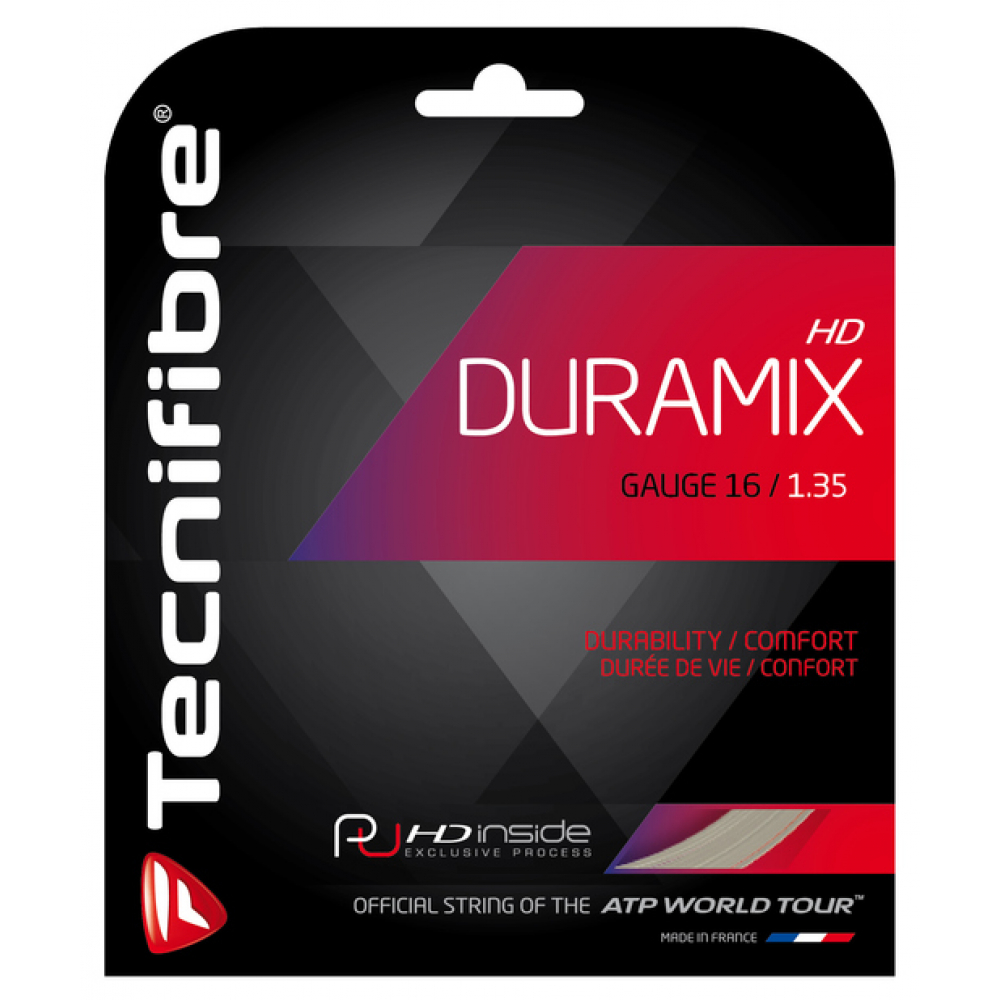 Tecnifibre Duramix HD 16g Tennis String (Set)