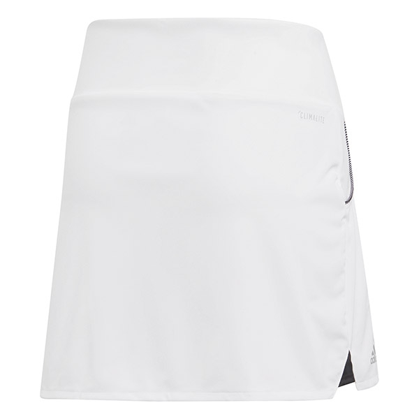 Adidas Girls' Club Tennis Skirt (White)