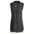 Adidas Women's New York Tennis Dress (Black/Glow Green) - Women's Tennis Apparel