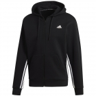 Adidas Men's Must Haves 3-Stripes Tennis Hoodie (Black/White) -