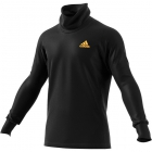 Adidas Men's Thermal Midlayer Longsleeve Tennis Training Top (Black) - Men's Long-Sleeve Shirts