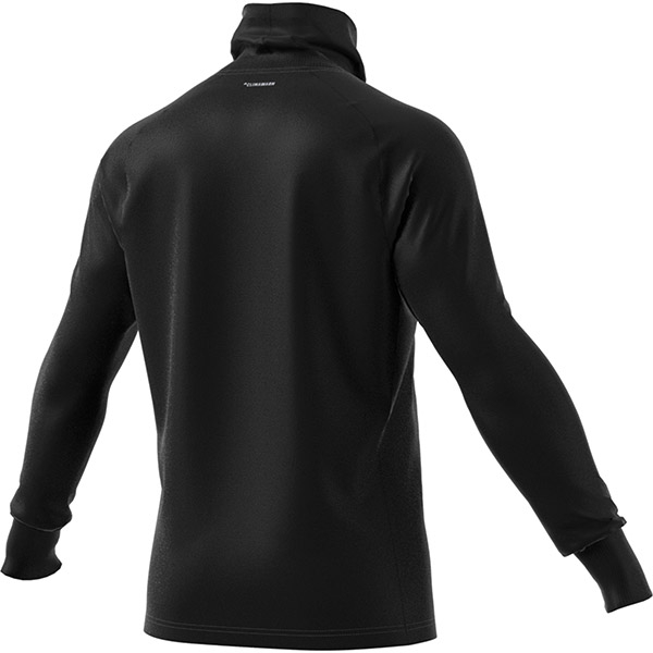Adidas Thermal Midlayer Longsleeve Tennis Training Top (Black)