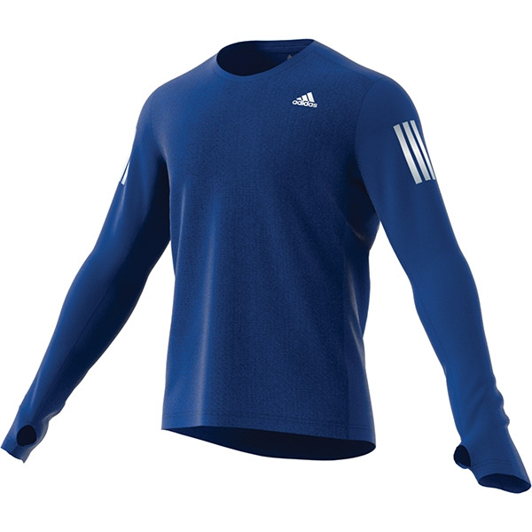 Adidas Men's Own The Run Longsleeve Training Tee (Collegiate Royal)
