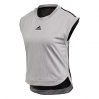 Adidas Women's NY Tennis Tee (Grey Three/Black) - Women's Tennis Apparel