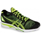 Asics Men's GEL-Solution Speed Shoes (Black/Yellow) - Tennis Shoes Sale