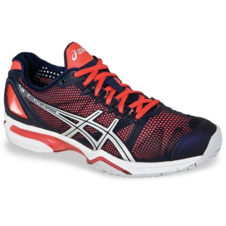 Asics Women's GEL-Solution Speed Tennis Shoes (Blue/Pink)