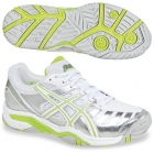 Asics Women's Challenger 9 Tennis Shoes (Sil/ Lim/ Wht) - Asics Tennis Shoes