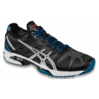 Asics Men's GEL-Solution Speed 2 Tennis Shoes (Onyx/Silver/Mosaic Blue) - Men's Tennis Shoes