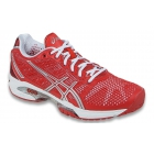 Asics Women's GEL-Solution Speed 2 Tennis Shoes (Hibiscus/Silver/White) - Types of Tennis Shoes