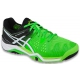Asics Men's Gel Resolution 6 Shoes (Flash Green/White/Black) - Asics Gel-Resolution Tennis Shoes