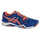 Asics Men's Gel Resolution 6 Shoes (Blue/ Orange/ Silver) - Tennis Shoe Guarantee