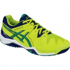 Asics Men's Gel Resolution 6 Shoes (Lime/ Pine/ Indigo) - Tennis Shoes