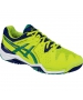 Asics Men's Gel Resolution 6 Shoes (Lime/ Pine/ Indigo) - Asics Gel-Resolution Tennis Shoes