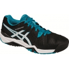 Asics Men's Gel Resolution 6 Tennis Shoes (Black/Blue/White) - Asics Tennis Shoes