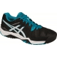 Asics Men's Gel Resolution 6 Tennis Shoes (Black/Blue/White) - Asics