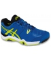 Asics Men's Challenger 10 Tennis Shoes (Blue/ Flash Yellow/ Black) - Asics