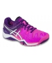 Asics Women's Gel Resolution 6 Shoes (Hot Pink/White/Purple) - Asics Gel-Resolution Tennis Shoes