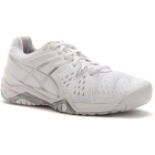 Asics Women's Gel Resolution 6 Shoes (White/ Silver) - Asics Tennis Shoes