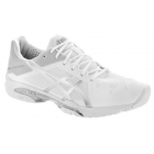 Asics Men's GEL-Solution Speed 3 Tennis Shoes (White/Silver) - Asics Gel-Solution Speed Tennis Shoes