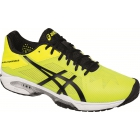 Asics Men's Gel Solution Speed 3 Tennis Shoes (Yellow/Black/White) - Lightweight Tennis Shoes
