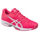 Asics Women's GEL-Solution Speed 3 Tennis Shoes (Rouge Red/Silver/White) - Women's Tennis Shoes