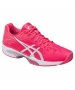 Asics Women's GEL-Solution Speed 3 Tennis Shoes (Rouge Red/Silver/White) - Lightweight Tennis Shoes