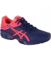 Asics Women's Gel-Solution Speed 3 Tennis Shoes (Blue/Pink) - Lightweight Tennis Shoes