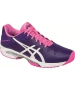 Asics Women's GEL-Solution Speed 3 Tennis Shoes (Purple/White/Pink) - Lightweight Tennis Shoes