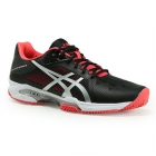 Asics Women's Gel-Solution Speed 3 Clay Tennis Shoes (Black/Silver/Diva Pink) - Types of Tennis Shoes